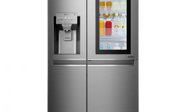 LG lance son nouveau réfrigérateur InstaView