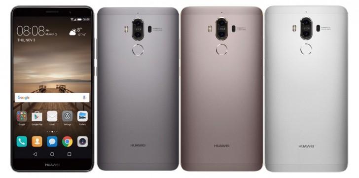 10 Huawei Mate 9