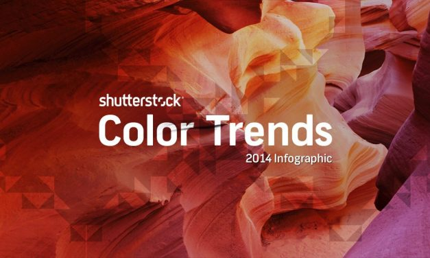 #Infographie #Création : The top color trends of 2014