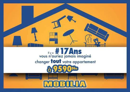 #Mobilia à l'honneur du #17ans