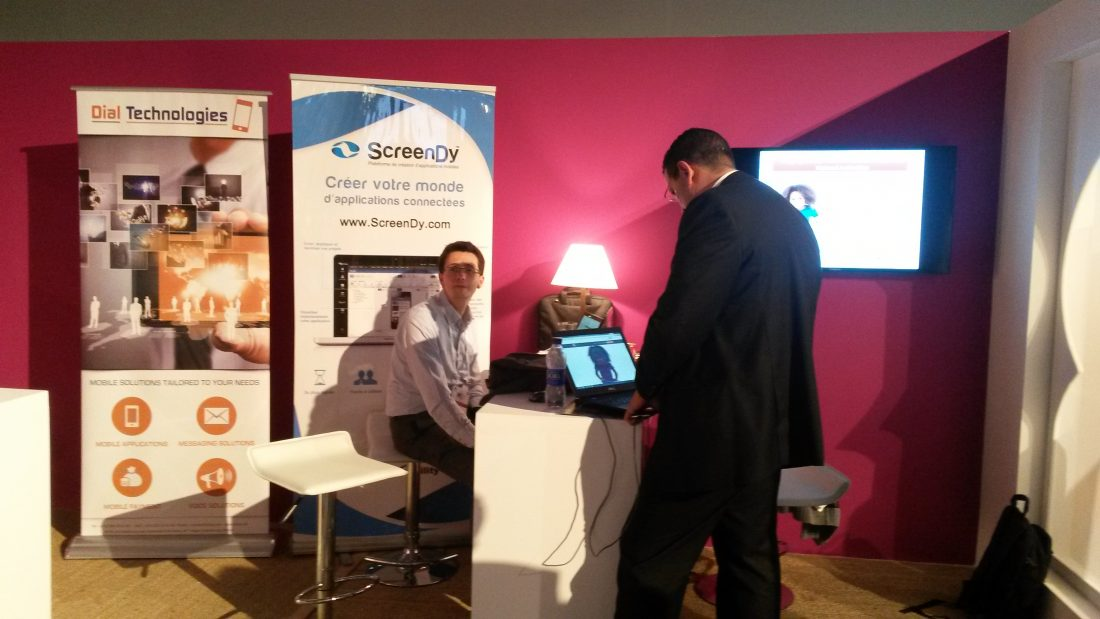 #Audio #GES2014 : Interview de Mehdi Alaoui, fondateur de ScreenDy