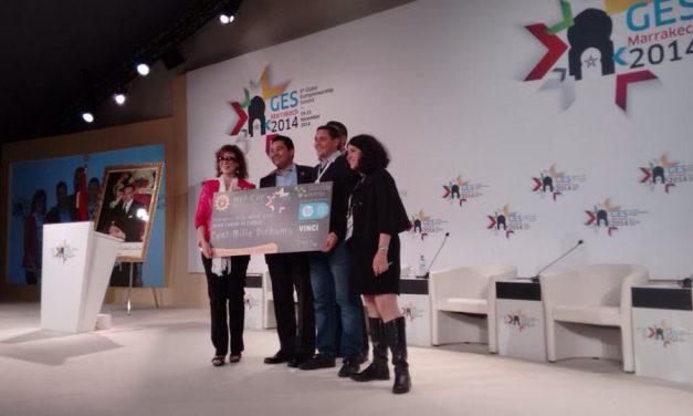 #GES2014 : Ev.ma remporte le prix de la meilleure start up