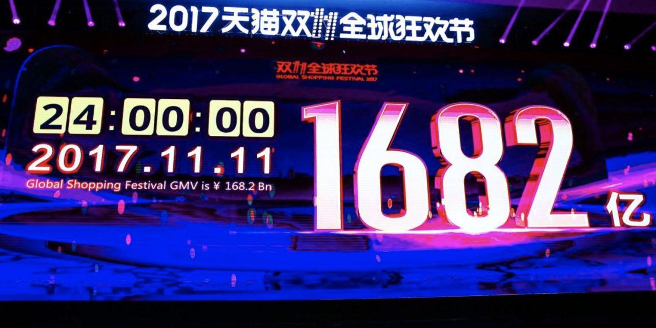 Infographie : Tous les chiffres du Single Day réalisés par Alibaba
