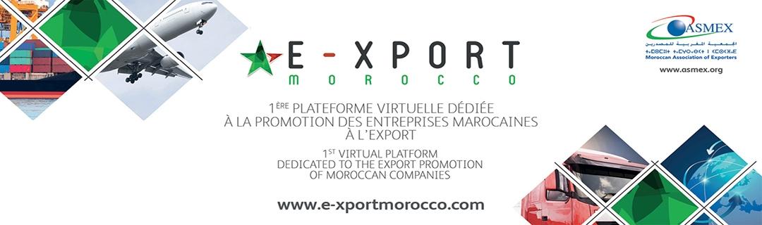 E-xport Morocco, premier salon virtuel dédié à la promotion des entreprises marocaines à l'export