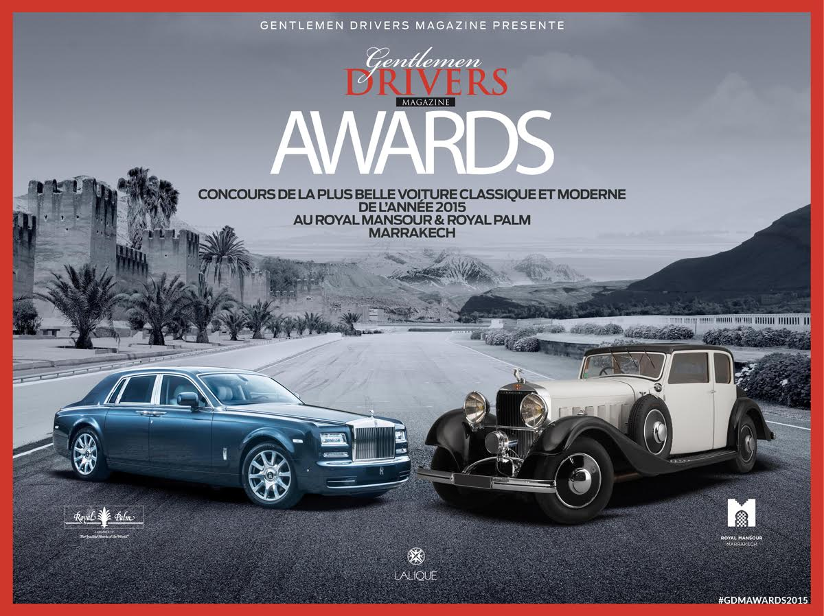 Affiche Gentlemen Drivers Awards