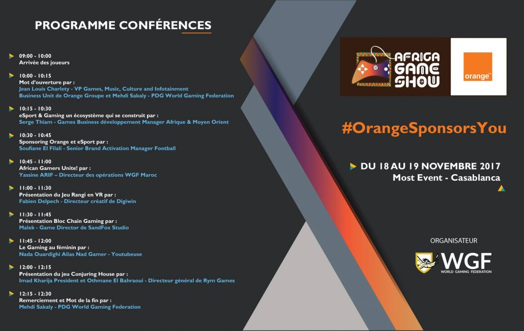 Africa Game Show Program 01