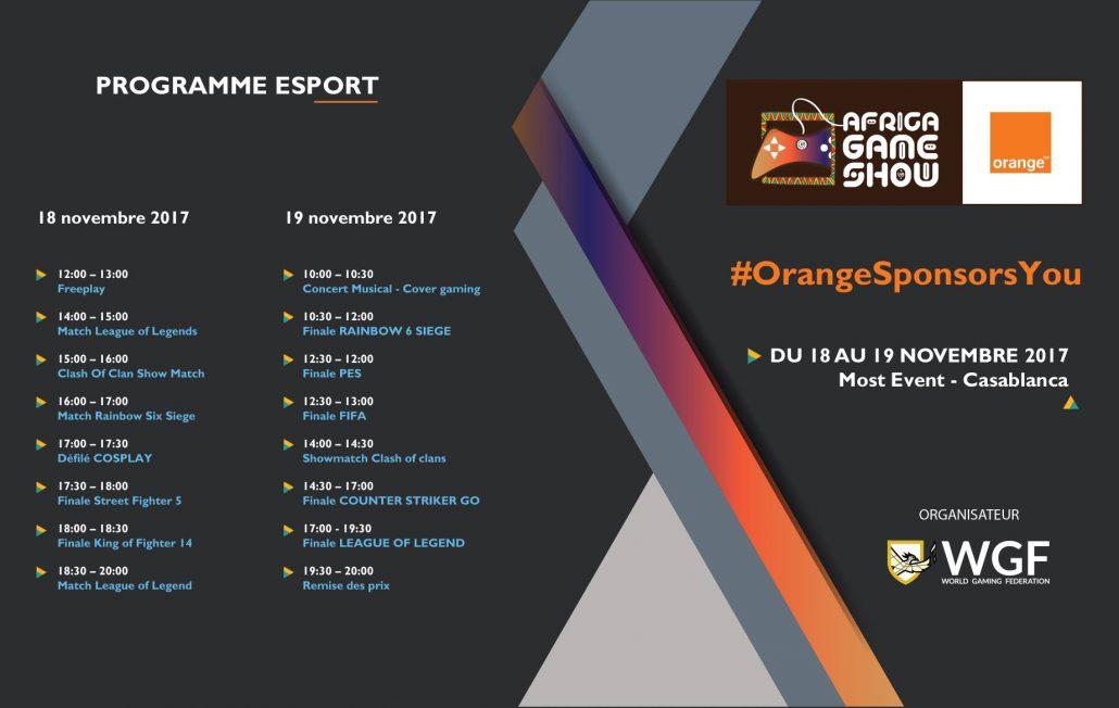 Africa Game Show Program 02