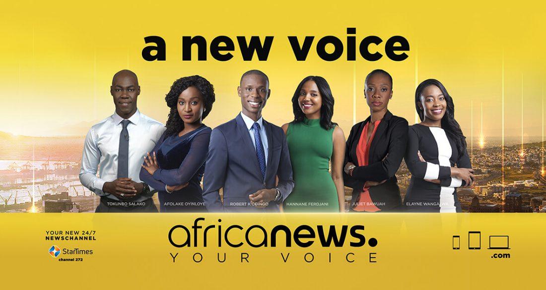 Africanews lance sa première campagne de pub panafricaine