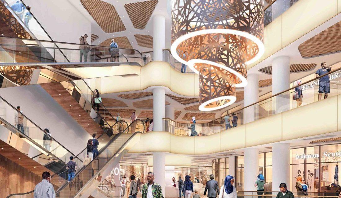Nouveau positionnement du Shopping Center ANFAPLACE