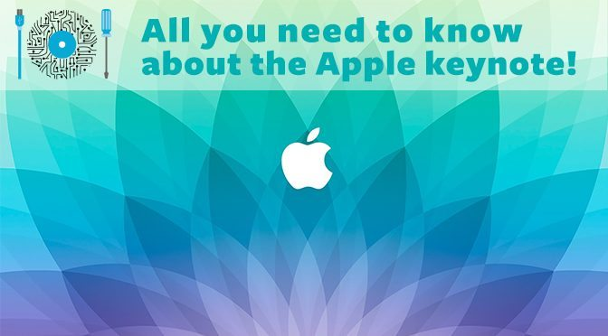 ICYMI The apple Keynote was yesterday: All there is to know!