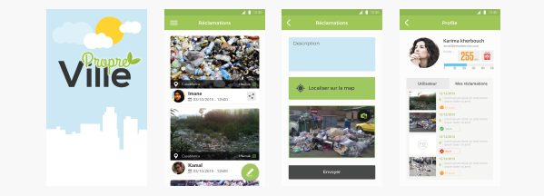 L'application Ville Propre disponible