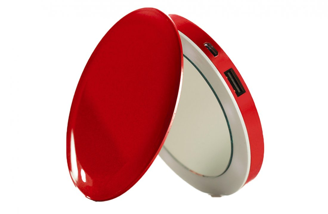 Batterie nomade Pearl Red
