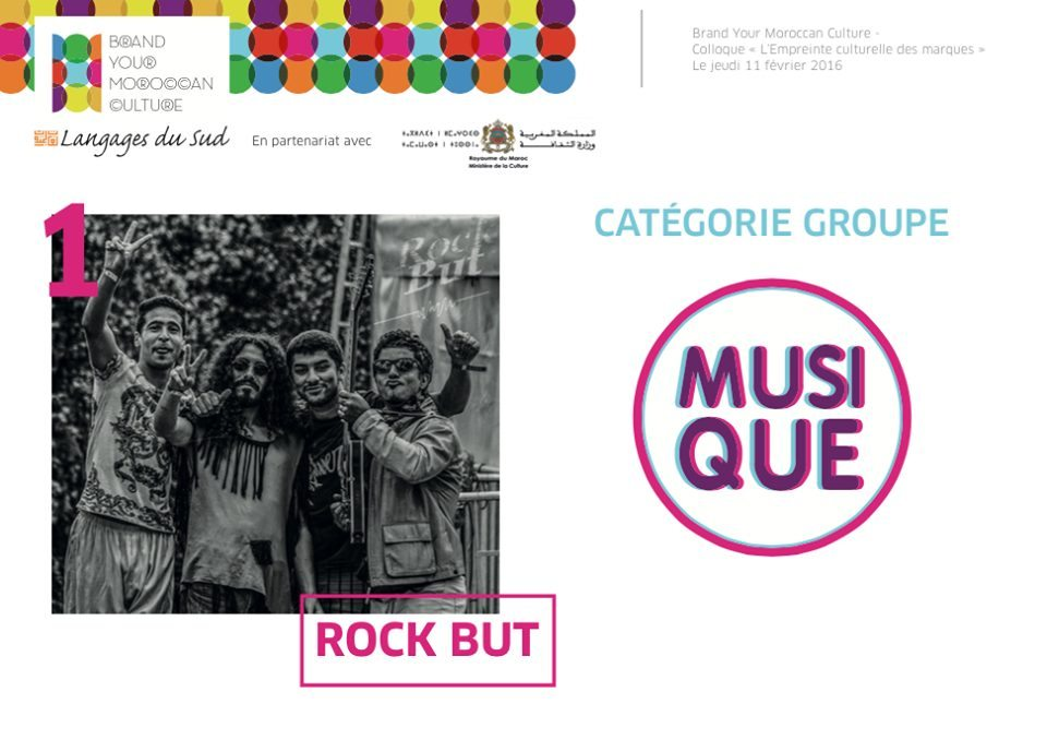 Brand Your Moroccan Culture Musique Groupe 1