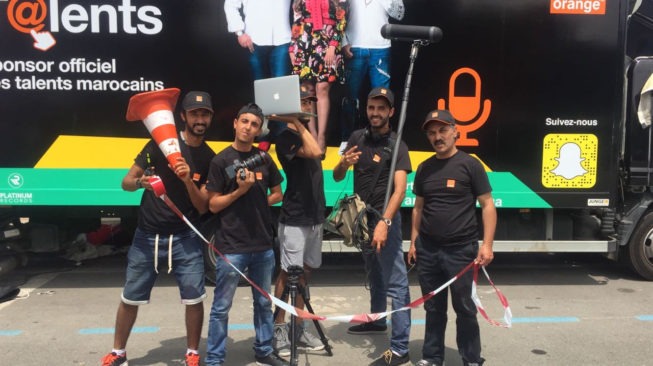 Les caravanes d'Orange Talents sillonnent le Maroc du 5 au 17 juillet à la découverte des talents de la chanson