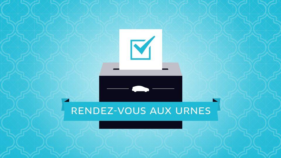 Opération promo : Uber joue la carte de citoyenneté et offre l'A/R aux bureaux de vote
