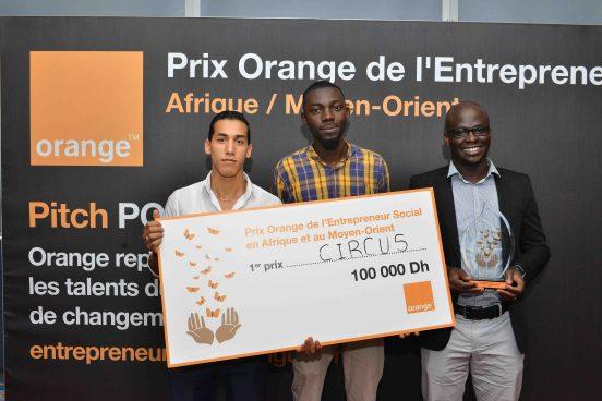 Circus Prix Orange Entrepreneur Social Maroc