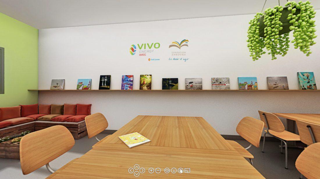 Classe typ3e Mama Tabiaa_ fondation Zakoura et Vivo Energy Maroc