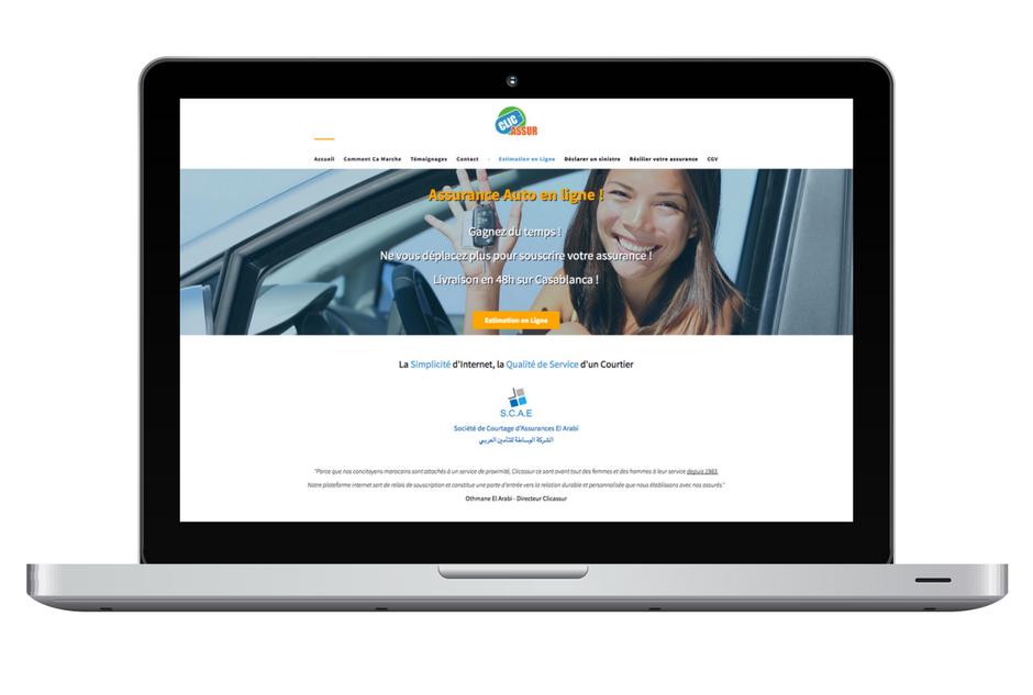 Le digital s'invite dans l'assurance via le site Clicassur.ma