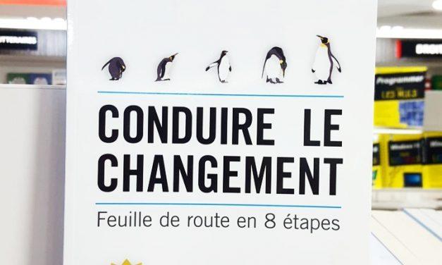 Conduire le changement, feuille de route en 8 étapes