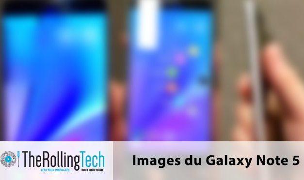 Premières images du Galaxy Note 5 !