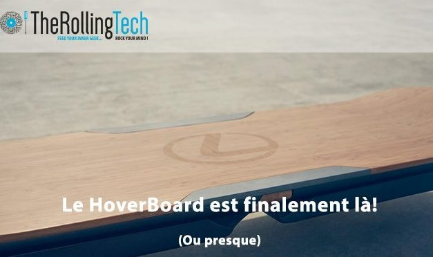 Fans de Back to the Future voici le Hoverboard!