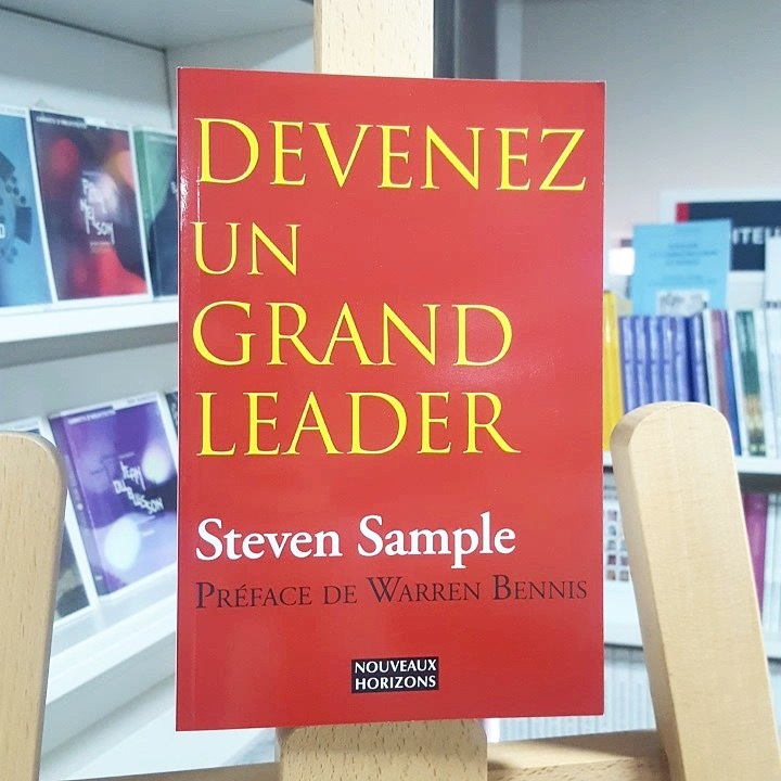 Devenez un grand leader Cover
