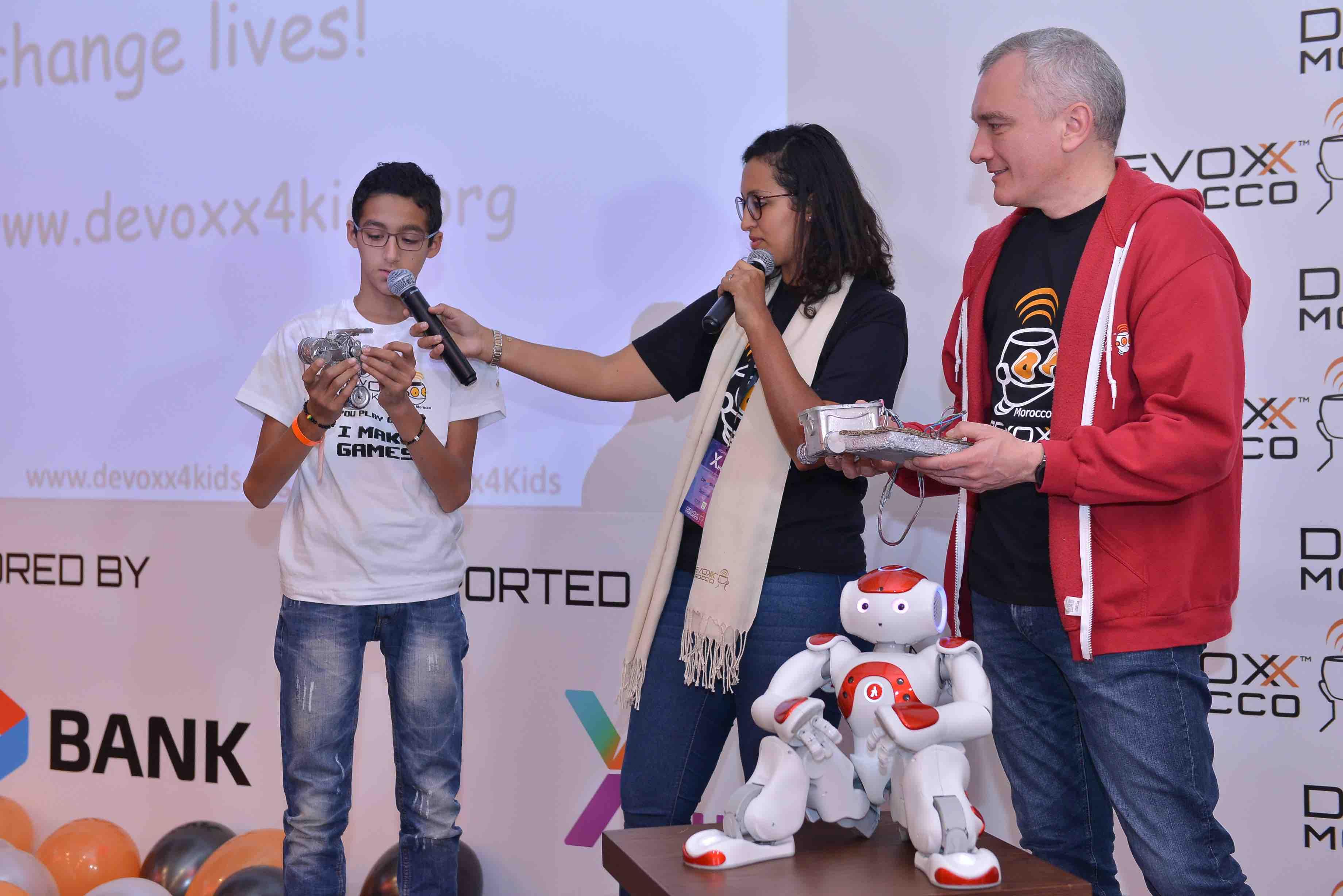 Clôture de la caravane 2017 Devoxx4KIDS Morocco