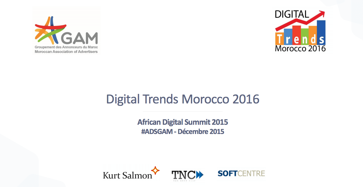 Digital Trends Morocco 2016