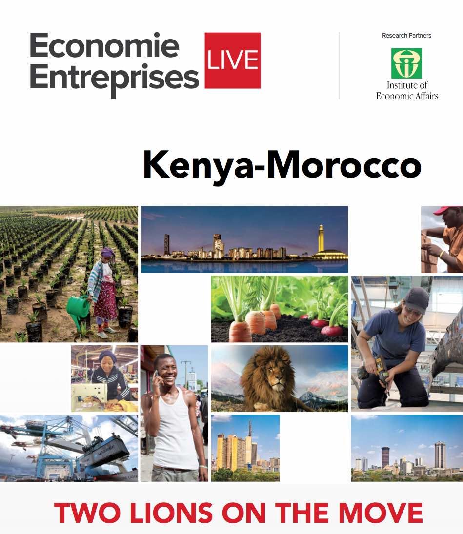 """[ Economie Entreprises LIVE ] Maroc-Kenya : Deux """"lions africains"""" en mouvement"""
