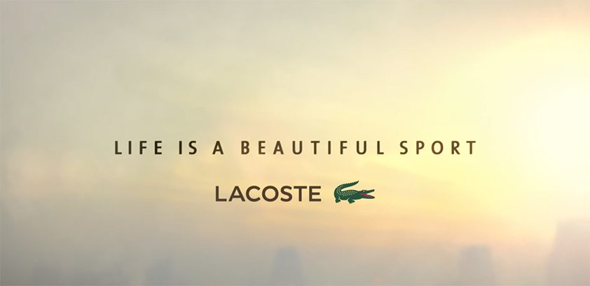 Lacoste : Grand Prix Effie 2015