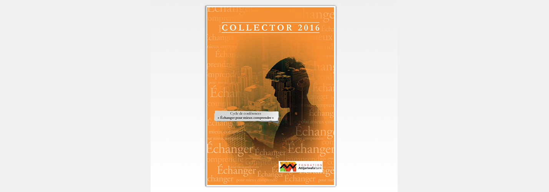 Cycle de conférences «Echanger pour mieux comprendre» : Le Collector 2016 des actes est en ligne