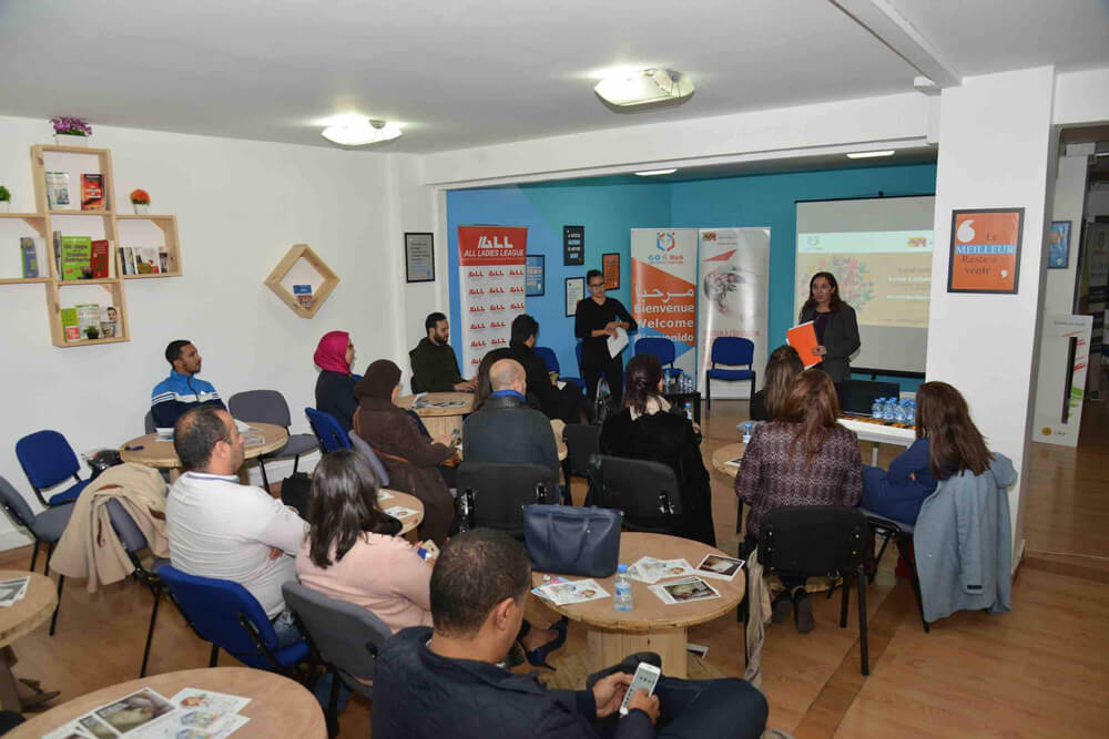 Fondation Attijariwafa bank Workshop Benevolat