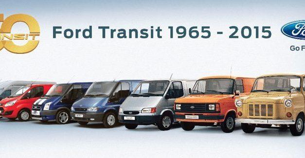 Jeu : Ford Transit célèbre son 50e anniversaire