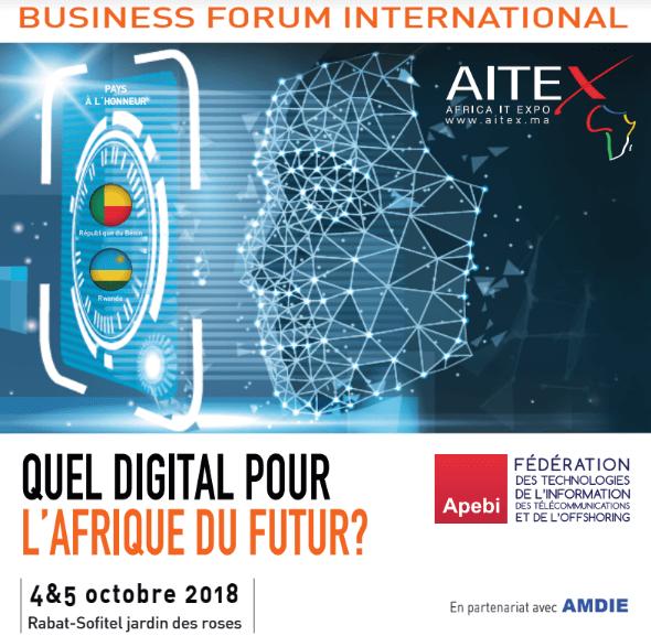 Forum AITEX 2018 poster