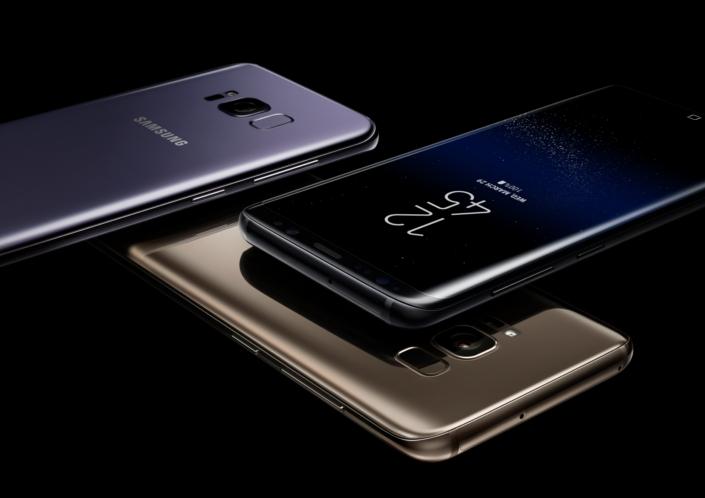 Lancement des Samsung Galaxy S8 et S8+