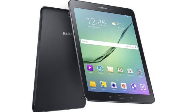 Samsung dévoile la Galaxy Tab S2