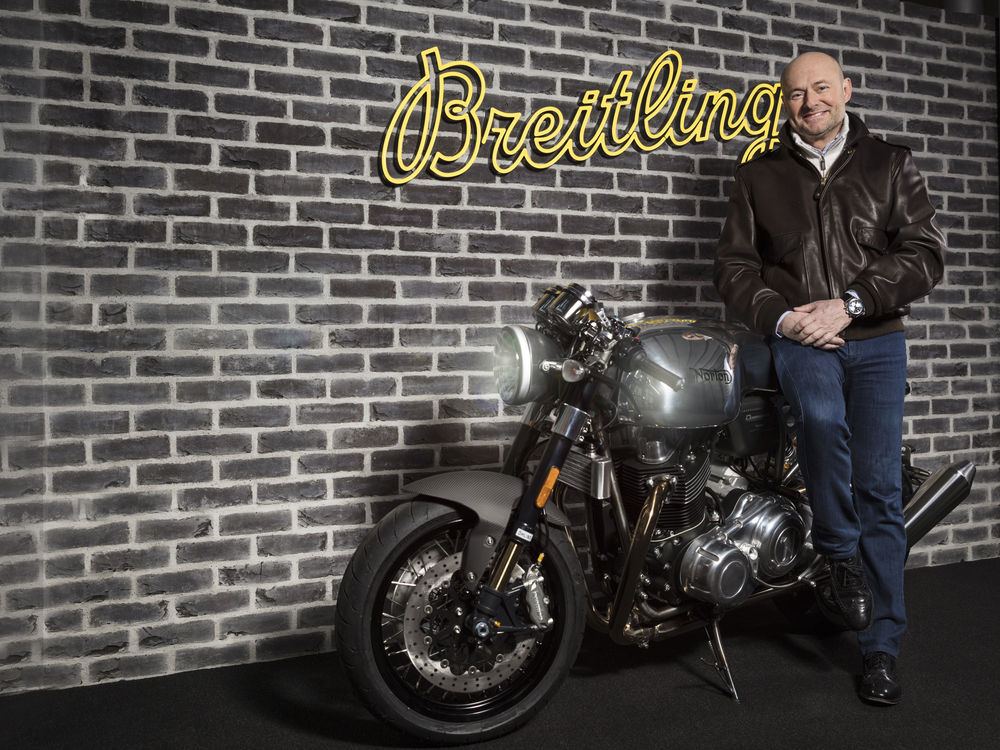 Georges Kern, global CEO of Breitling, discusses the luxury market in the Middle East