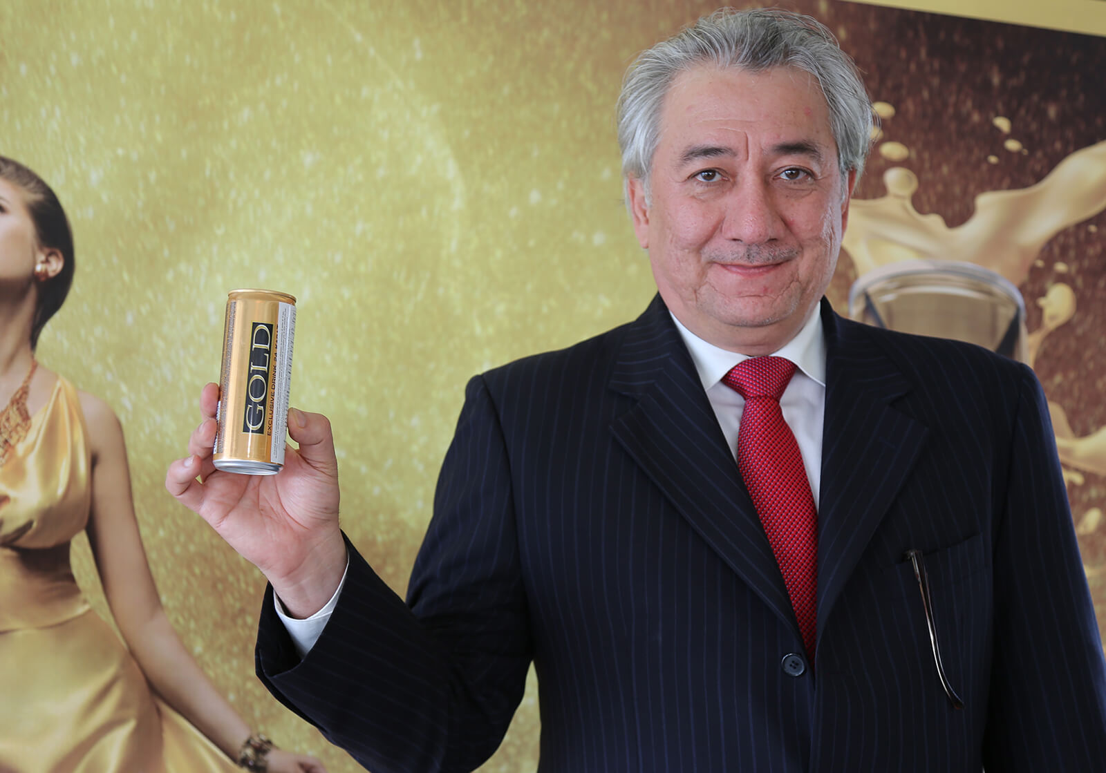 """Lancement de la boisson énergétique """"Gold"""" au Maroc"""