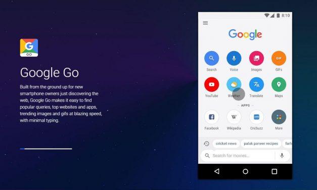 Lancement de Google Go