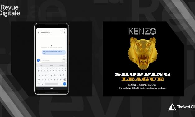 Google Express, Google Ads & Kenzo