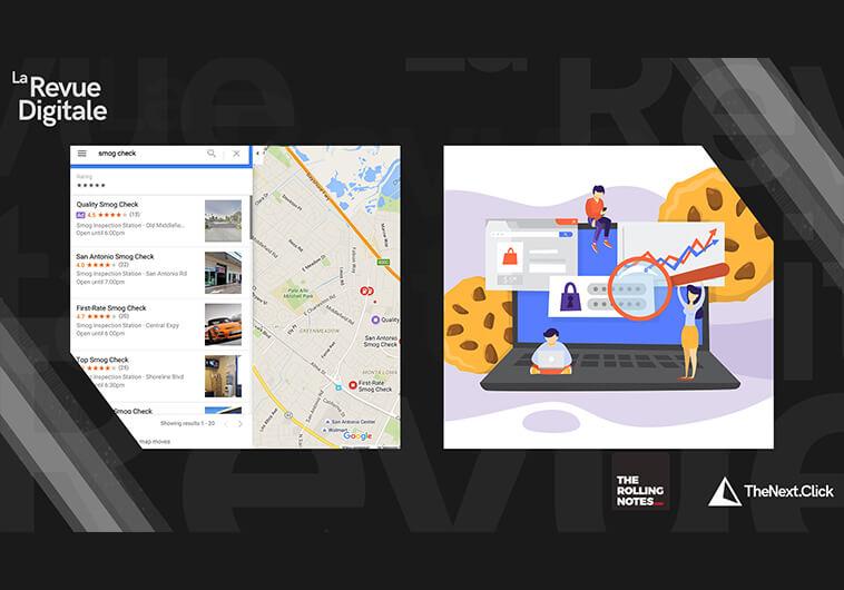 Google Maps, Instagram et Cookies Tiers