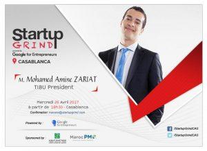 Google Startup Grind Mohamed Amine Zariat