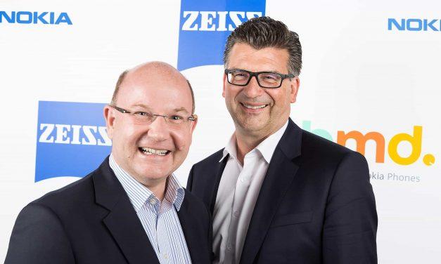 Les smartphones Nokia seront équipés d'optiques ZEISS