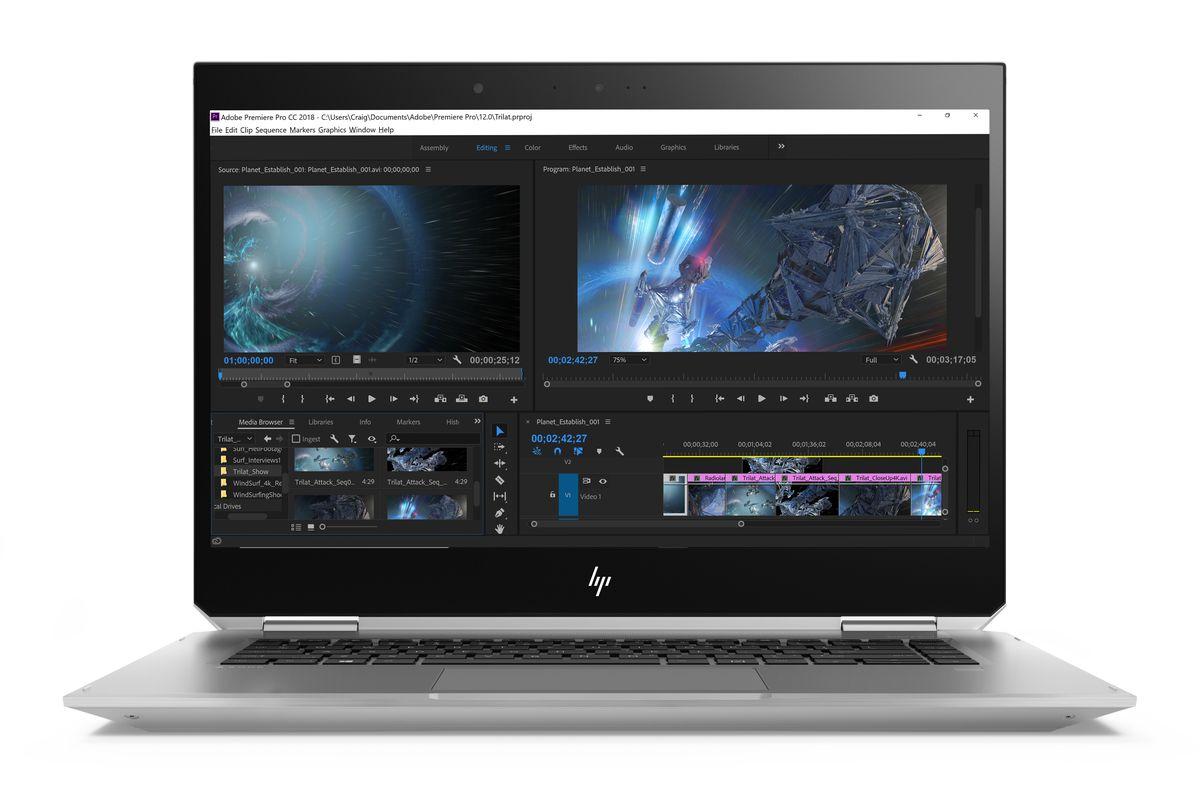 Nouvelles stations de travail HP ZBook
