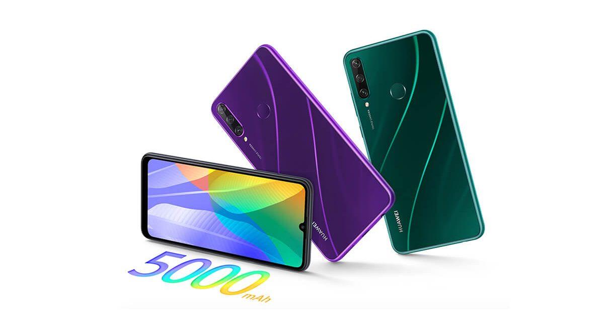 Lancement du Huawei Y6p