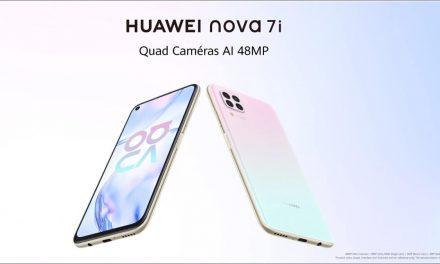 Le nouveau HUAWEI nova 7i est disponible en précommande