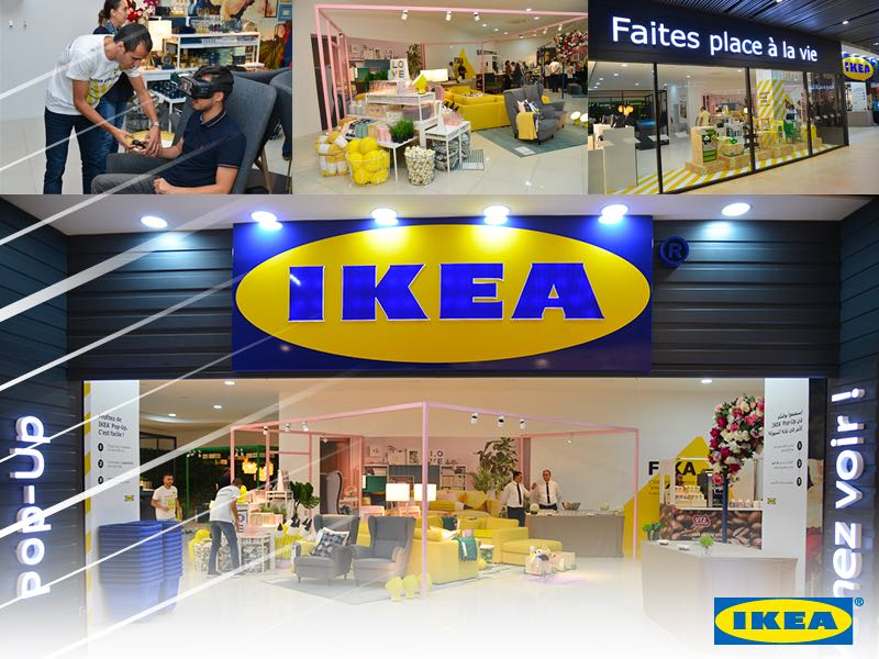 IKEA Pop Up : Plus d'un demi-million de visiteurs