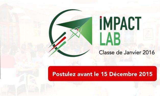 Appel à candidature : L'incubateur IMPACT LAB recrute sa 4ème classe d'entrepreneurs