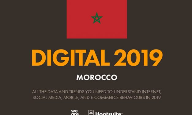 Digital 2019 : Morocco