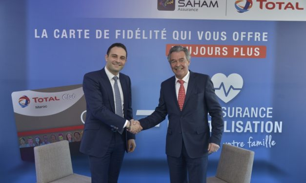 Partenariat Total Maroc et Saham Assurance